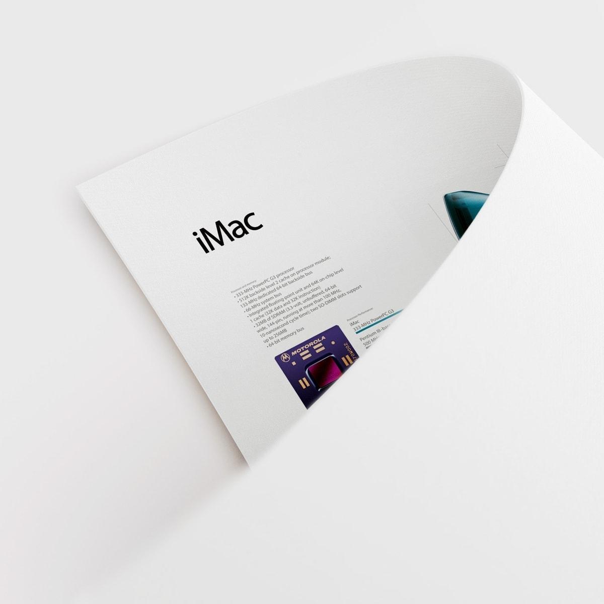 iMac g3 poster