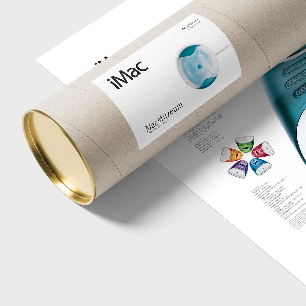 iMac G3 poster & tube